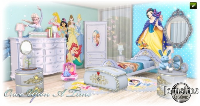 Once Upon a time kidsroom at Jomsims Creations image 10810 670x355 Sims 4 Updates