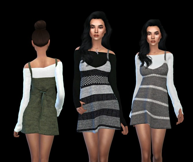 Sims 4 By2ol Outfit at Leo Sims