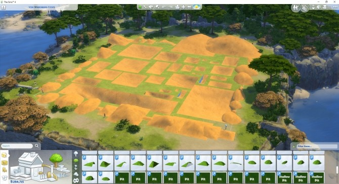 Terrain Pack by TwistedMexi at Mod The Sims image 1087 670x363 Sims 4 Updates
