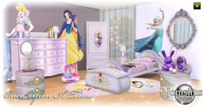 Once Upon a time kidsroom at Jomsims Creations image 10910 670x355 Sims 4 Updates