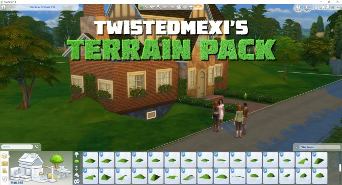Terrain Pack by TwistedMexi at Mod The Sims image 1097 670x363 Sims 4 Updates