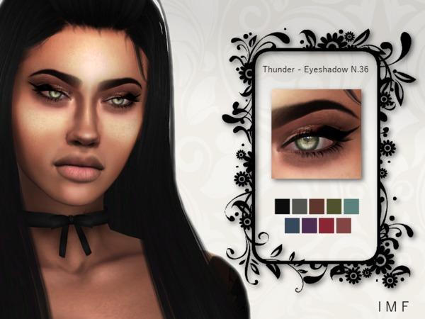 Sims 4 IMF Thunder Eyeshadow N.36 by IzzieMcFire at TSR
