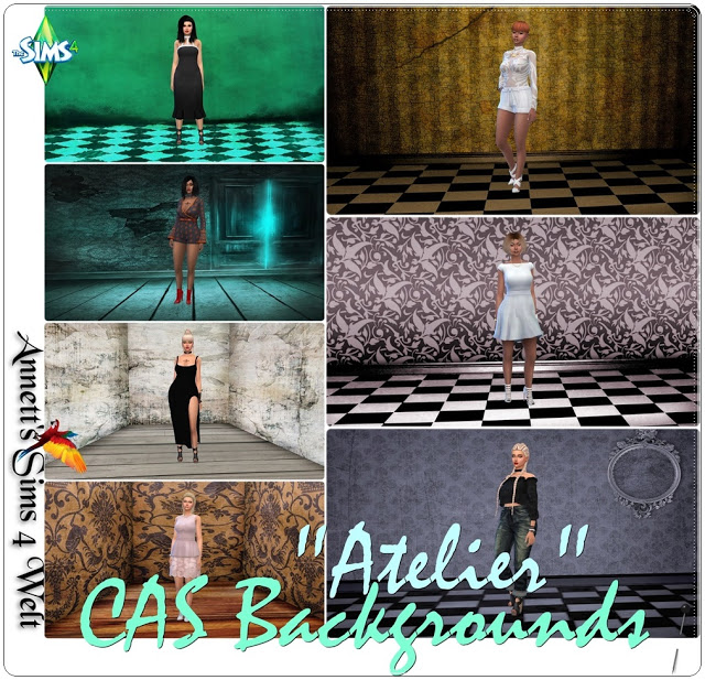 Atelier CAS Backgrounds at Annett's Sims 4 Welt image 11116 Sims 4 Updates