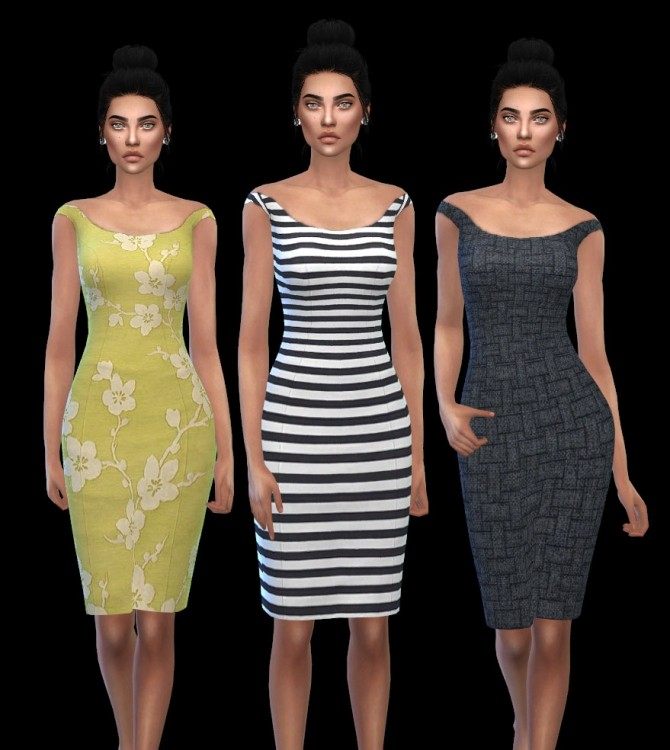 Sims 4 Kruella Dress at Leo Sims