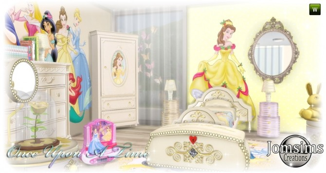 Sims 4 Once Upon a time kidsroom at Jomsims Creations