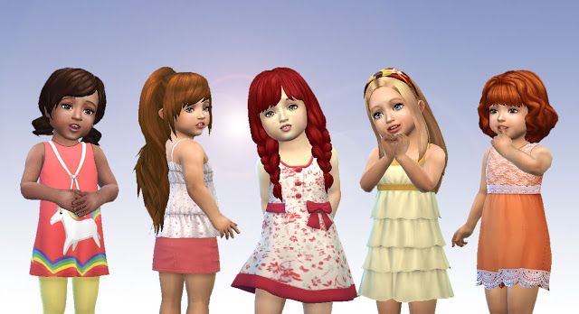 Sims 4 Toddlers Hair Pack 6 at My Stuff