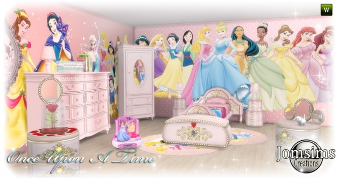 Once Upon a time kidsroom at Jomsims Creations image 11610 670x355 Sims 4 Updates