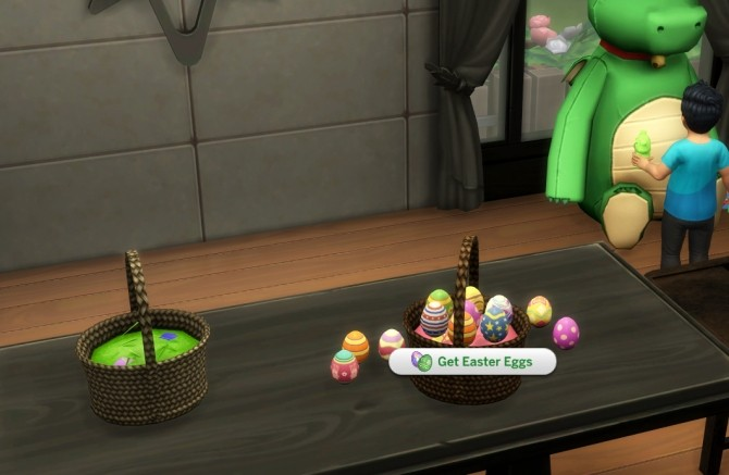 Functional Easter Basket with Edible Easter Eggs by icemunmun at Mod The Sims image 1167 670x437 Sims 4 Updates