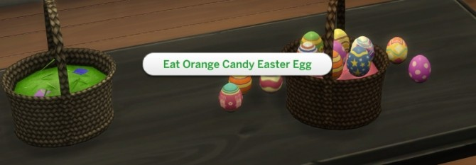 Functional Easter Basket with Edible Easter Eggs by icemunmun at Mod The Sims image 1177 670x233 Sims 4 Updates