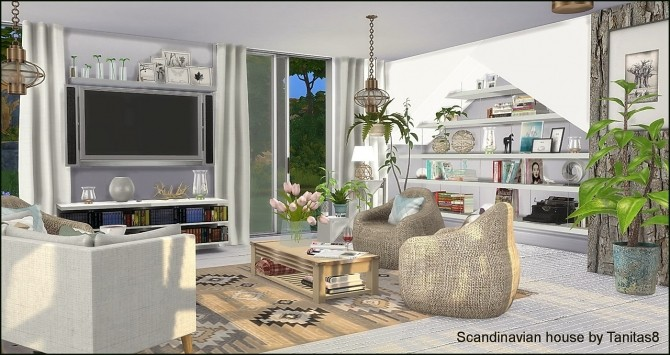 Scandinavian house at Tanitas8 Sims image 1178 670x355 Sims 4 Updates