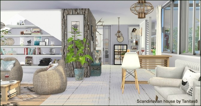 Scandinavian house at Tanitas8 Sims image 1188 670x355 Sims 4 Updates