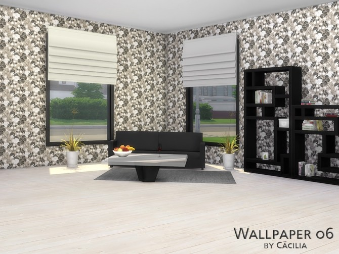 Wallpaper 06 by Cäcilia at Akisima image 1197 670x503 Sims 4 Updates
