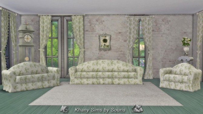 SAISON livingroom by Souris at Khany Sims image 12012 670x377 Sims 4 Updates