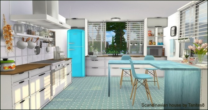 Scandinavian house at Tanitas8 Sims image 1208 670x355 Sims 4 Updates