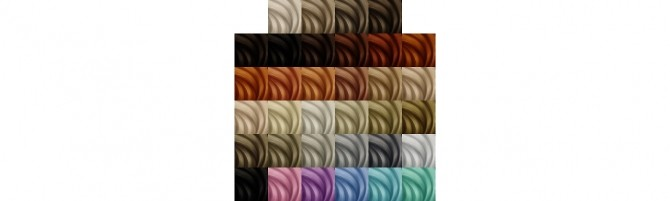 Sims 4 Aharris00britneys Roseanne hair recolors at Deeliteful Simmer