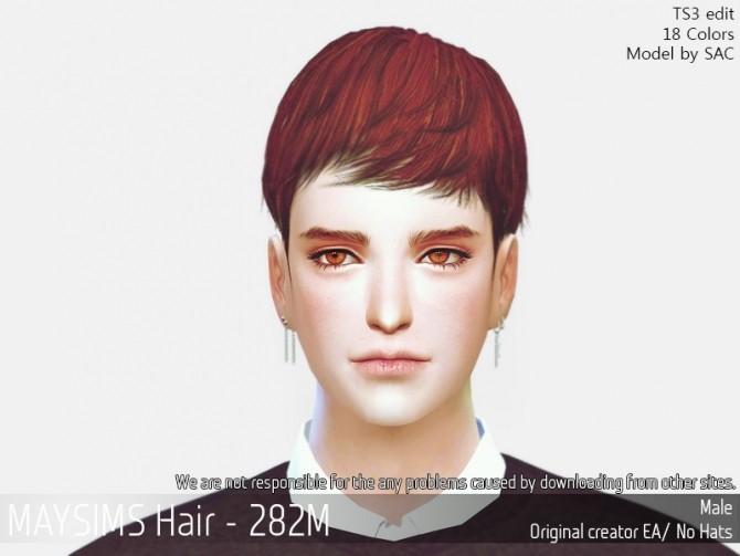 Sims 4 Hair 282M (EA) at May Sims