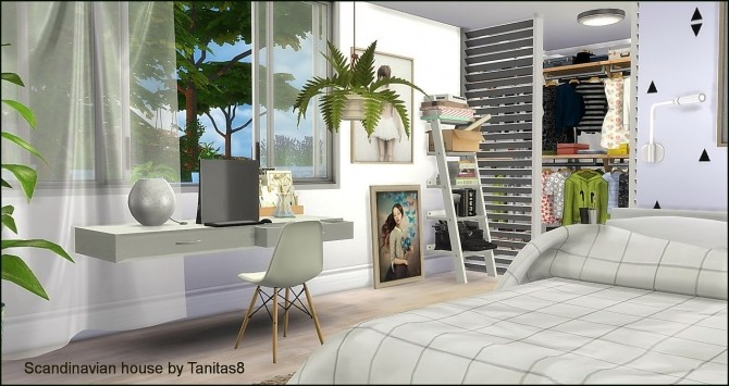 Scandinavian house at Tanitas8 Sims image 1237 670x355 Sims 4 Updates