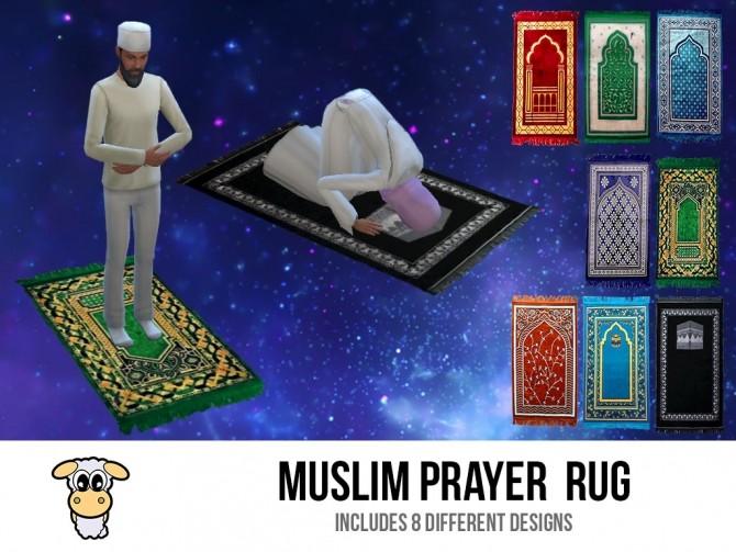 Muslim Prayer Rug By Indiaskapie At Mod The Sims 187 Sims 4