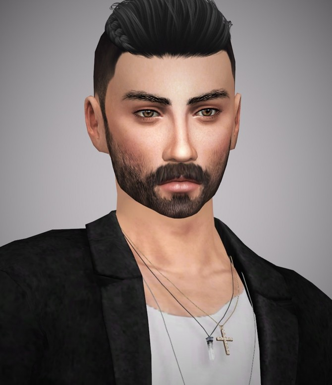 Aiden Gallagher at Aveline Sims image 1283 670x777 Sims 4 Updates