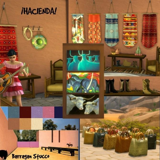 HACIENDA set at Tkangie – Armchair Traveler image 1307 670x670 Sims 4 Updates