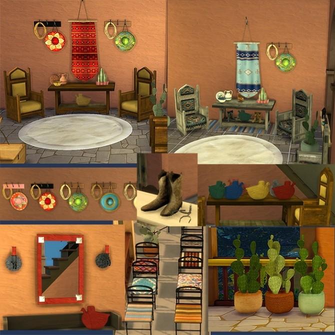 HACIENDA set at Tkangie – Armchair Traveler image 13113 670x670 Sims 4 Updates