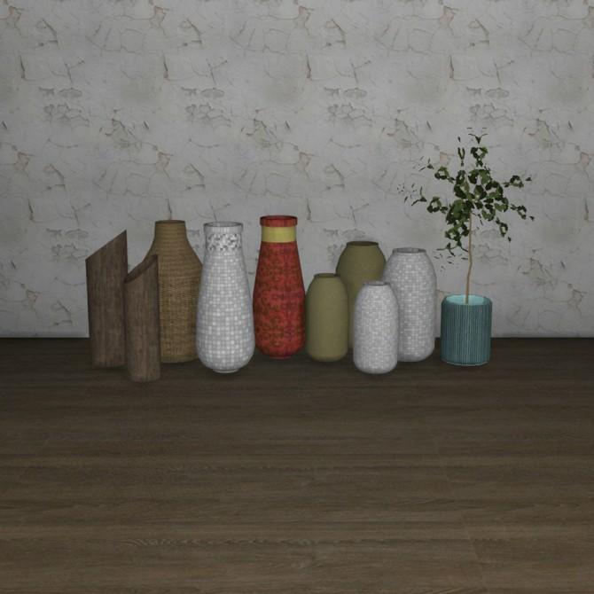 Sims 4 April Vases at Leo Sims