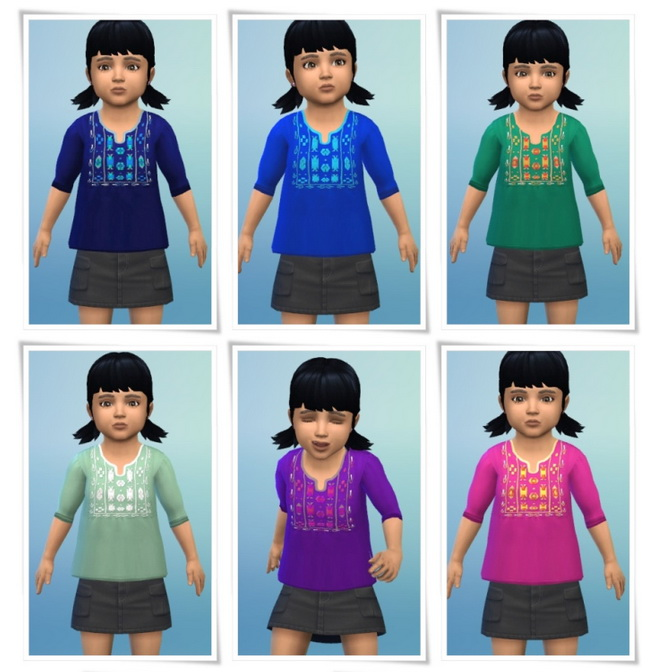 AsiaShirt Toddler at Birksches Sims Blog image 1331 Sims 4 Updates
