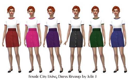 City Living Dress Revamp at Julietoon – Julie J image 13410 Sims 4 Updates