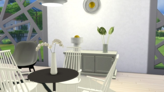 Sims 4 Stone Wall/Table Light (Pay) at Meinkatz Creations