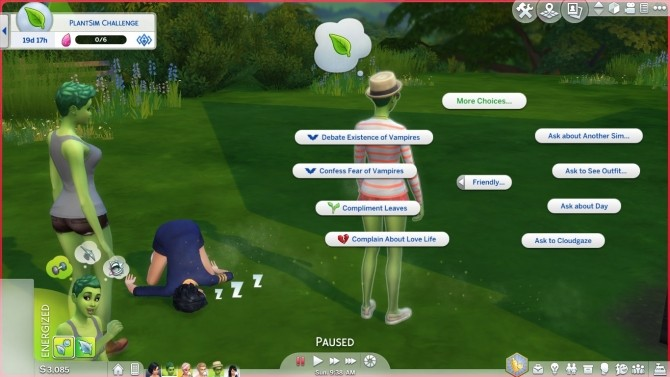 Plant Sim Interactions: Absorb Water, Poison Kiss, and more by CardTaken at Mod The Sims image 1346 670x377 Sims 4 Updates