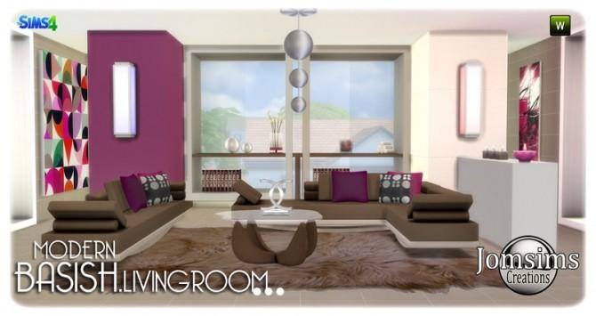 Basish livingroom at Jomsims Creations image 13613 670x355 Sims 4 Updates