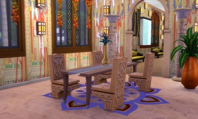 Sims 4 Cleopatra Palace (Egypt) at Tatyana Name