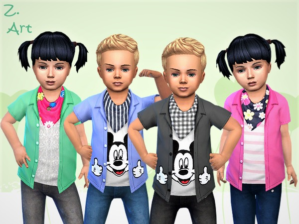 BabeZ 15 shirts by Zuckerschnute20 at TSR image 1370 Sims 4 Updates