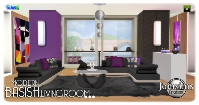 Basish livingroom at Jomsims Creations image 13712 670x355 Sims 4 Updates