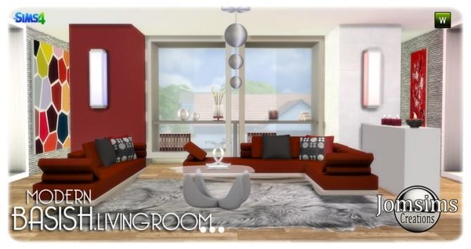 Basish livingroom at Jomsims Creations image 13812 670x355 Sims 4 Updates