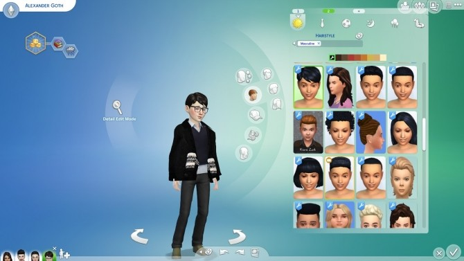 Black Hair and Eyebrows Texture Override by chingyu1023 at Mod The Sims image 139 670x377 Sims 4 Updates