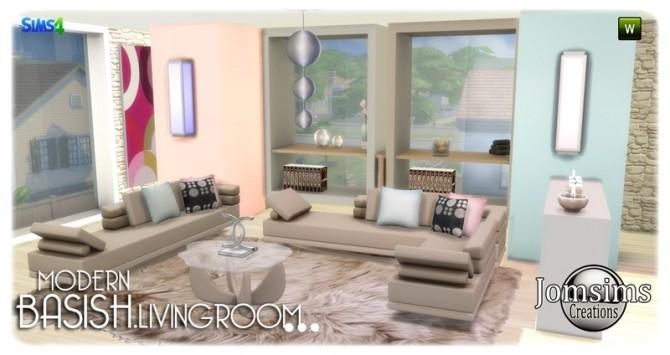 Basish livingroom at Jomsims Creations image 13913 670x355 Sims 4 Updates