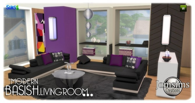 Basish livingroom at Jomsims Creations image 14012 670x355 Sims 4 Updates