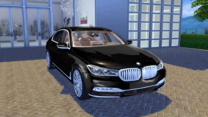 Sims 4 2017 BMW 750 Li at OceanRAZR