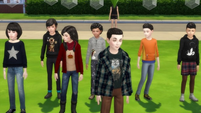 Black Hair and Eyebrows Texture Override by chingyu1023 at Mod The Sims image 142 670x377 Sims 4 Updates