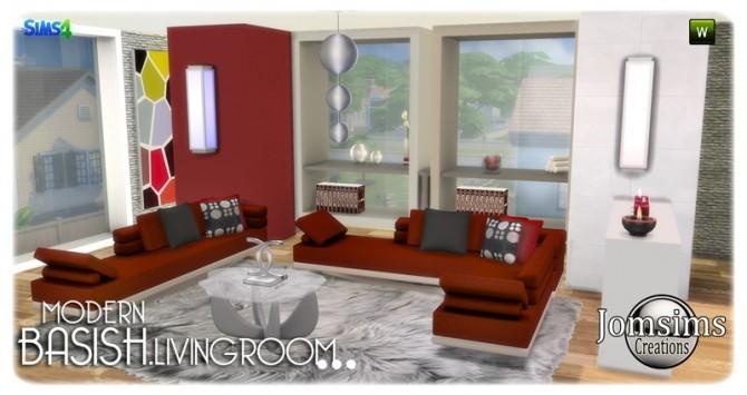 Basish livingroom at Jomsims Creations image 14213 670x355 Sims 4 Updates