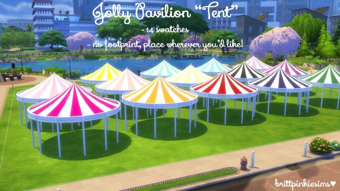 Roller Coaster Set at Brittpinkiesims image 1423 670x377 Sims 4 Updates