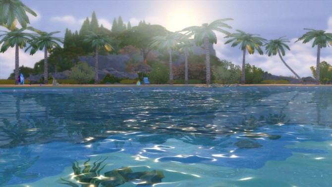 Tropical Beach with Real Waves by Snowhaze at Mod The Sims image 143 670x377 Sims 4 Updates
