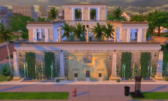 Cleopatra Palace (Egypt) at Tatyana Name image 1437 670x402 Sims 4 Updates