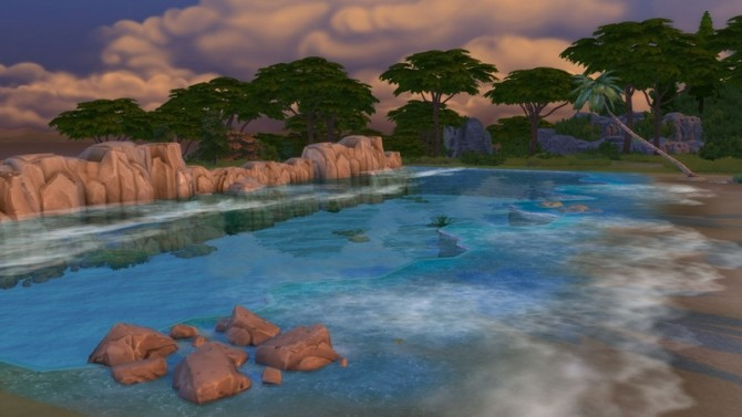 Tropical Beach with Real Waves by Snowhaze at Mod The Sims image 145 670x377 Sims 4 Updates