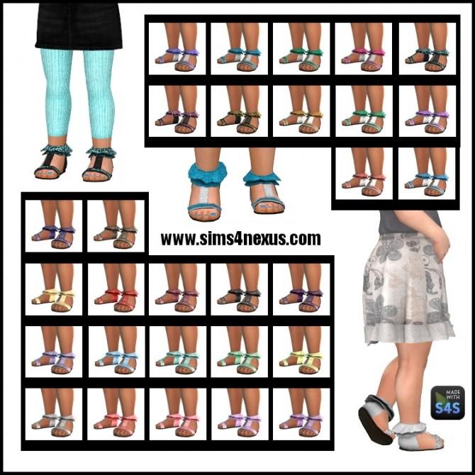 Sims 4 Frou Frou Footsies by SamanthaGump at Sims 4 Nexus