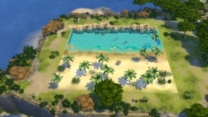 Tropical Beach with Real Waves by Snowhaze at Mod The Sims image 147 670x377 Sims 4 Updates