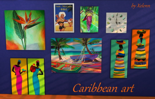 Caribbean art at Xelenn image 1474 Sims 4 Updates