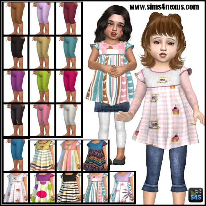 Little Miss Patterns set by SamanthaGump at Sims 4 Nexus image 14810 670x670 Sims 4 Updates