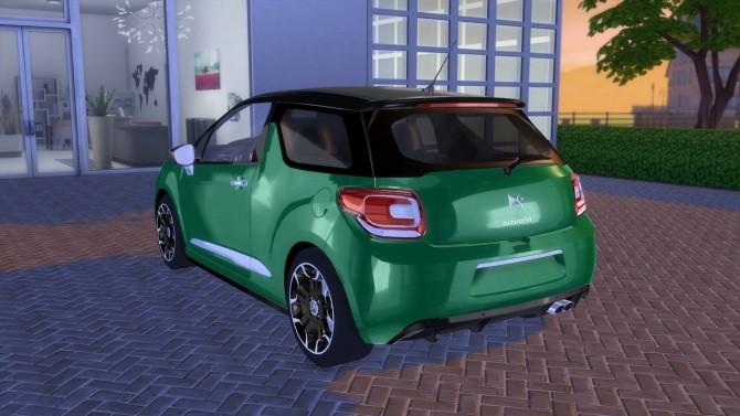 Citroen Ds3 2014 At Oceanrazr 187 Sims 4 Updates